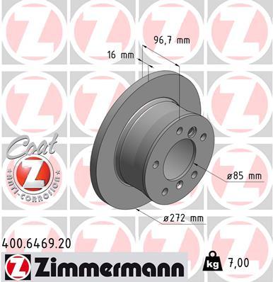 G 290 TD (461 335, 461 336) - Zimmermann Bremsentechnik