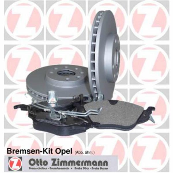 ZIMMERMANN 640.4217.00/Bremsen Kit
